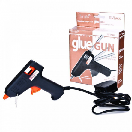 Hot Melt Glue Gun with 3 sticks and stand UK -  Hi-Tack Mini